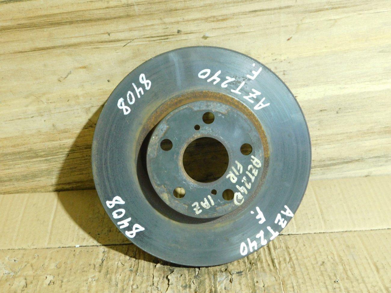 Тормозной диск Toyota Celica ZZT231 2ZZ-GE передний (б/у)