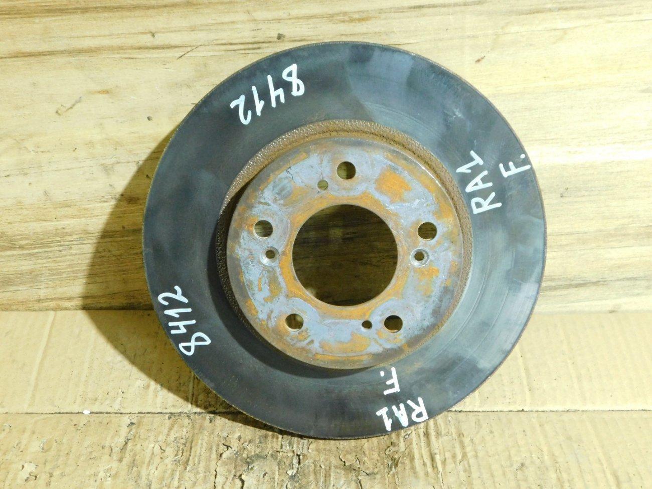 Тормозной диск Honda Odyssey RA1 D16W1 передний (б/у)