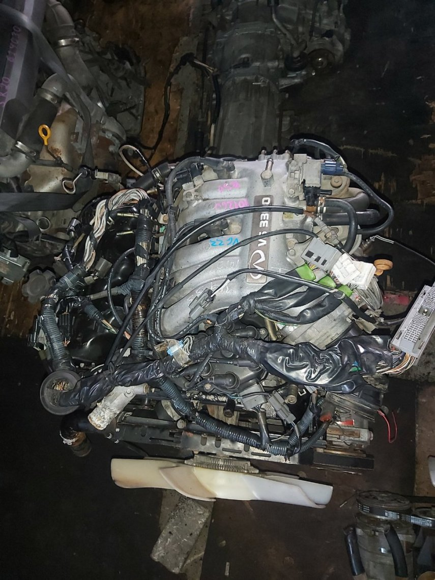 Двигатель Infiniti Qx4 VG33E (б/у)