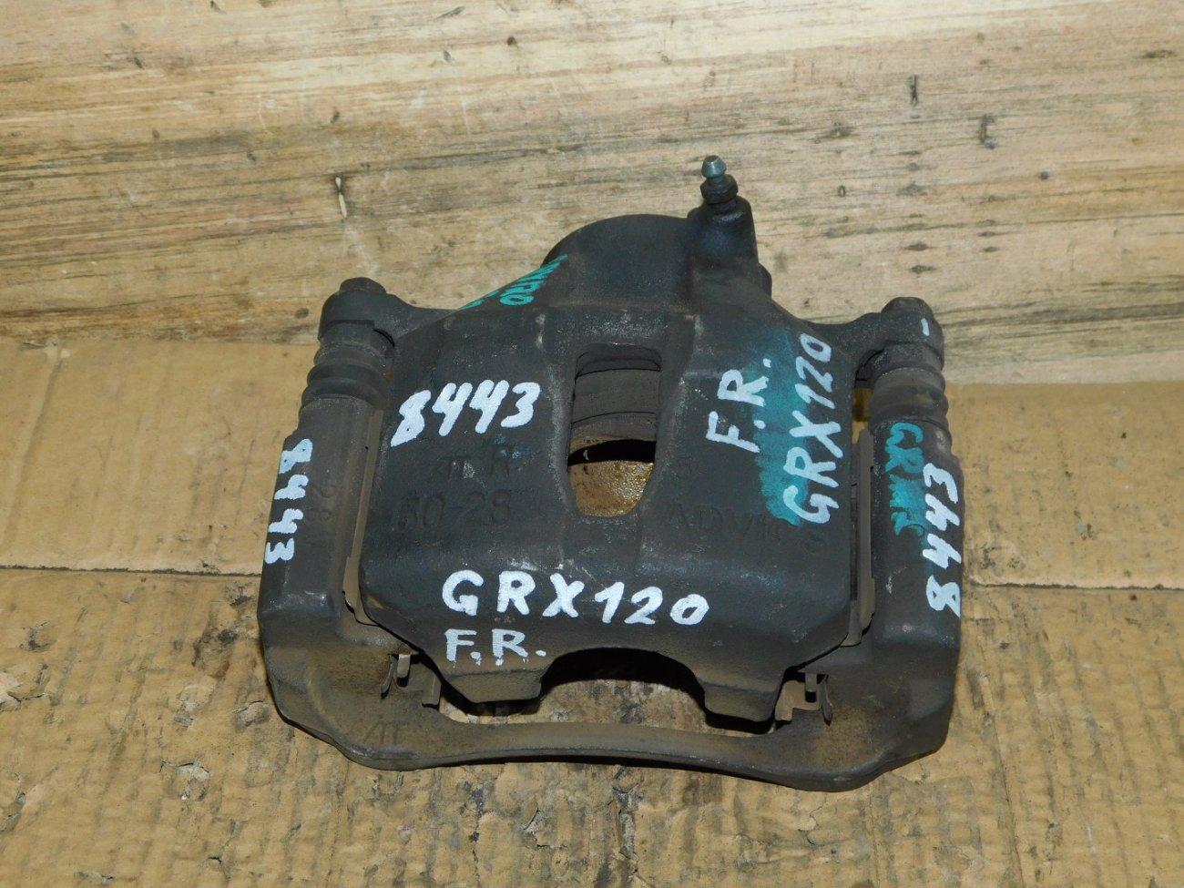 Суппорт Toyota Mark X GRX120 4GR передний правый (б/у)