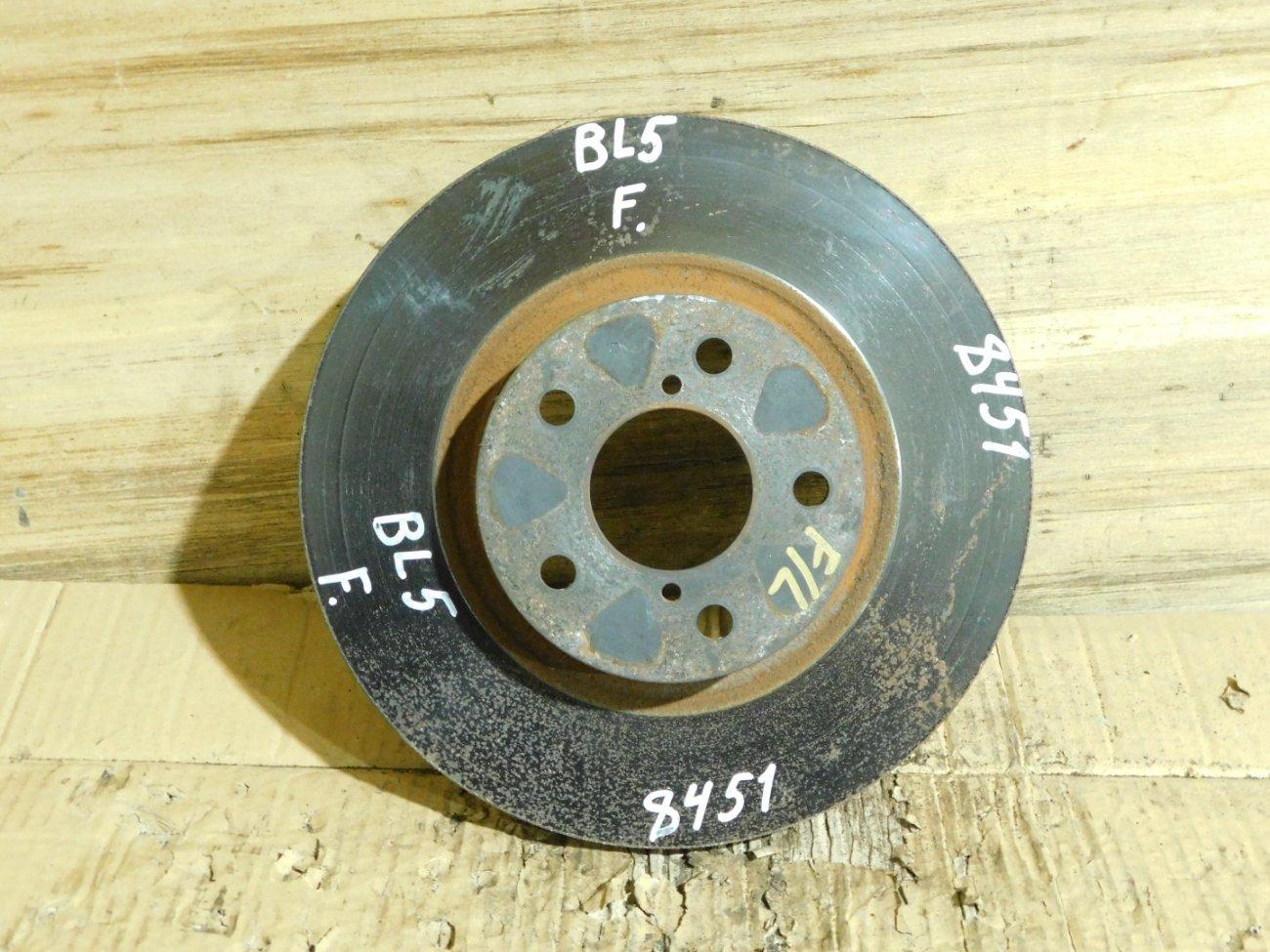 Тормозной диск Subaru Outback BE5 EJ205 передний (б/у)