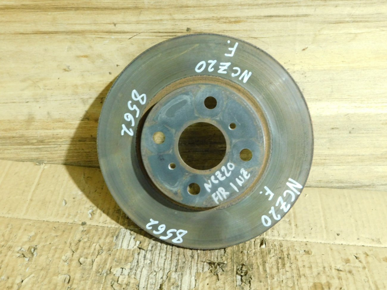 Тормозной диск Toyota Porte NNP10 1NZ-FE передний (б/у)