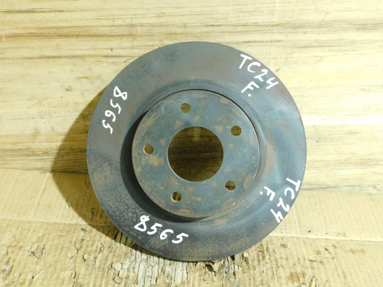 Тормозной диск Nissan Serena TC24 QR20DE передний (б/у)