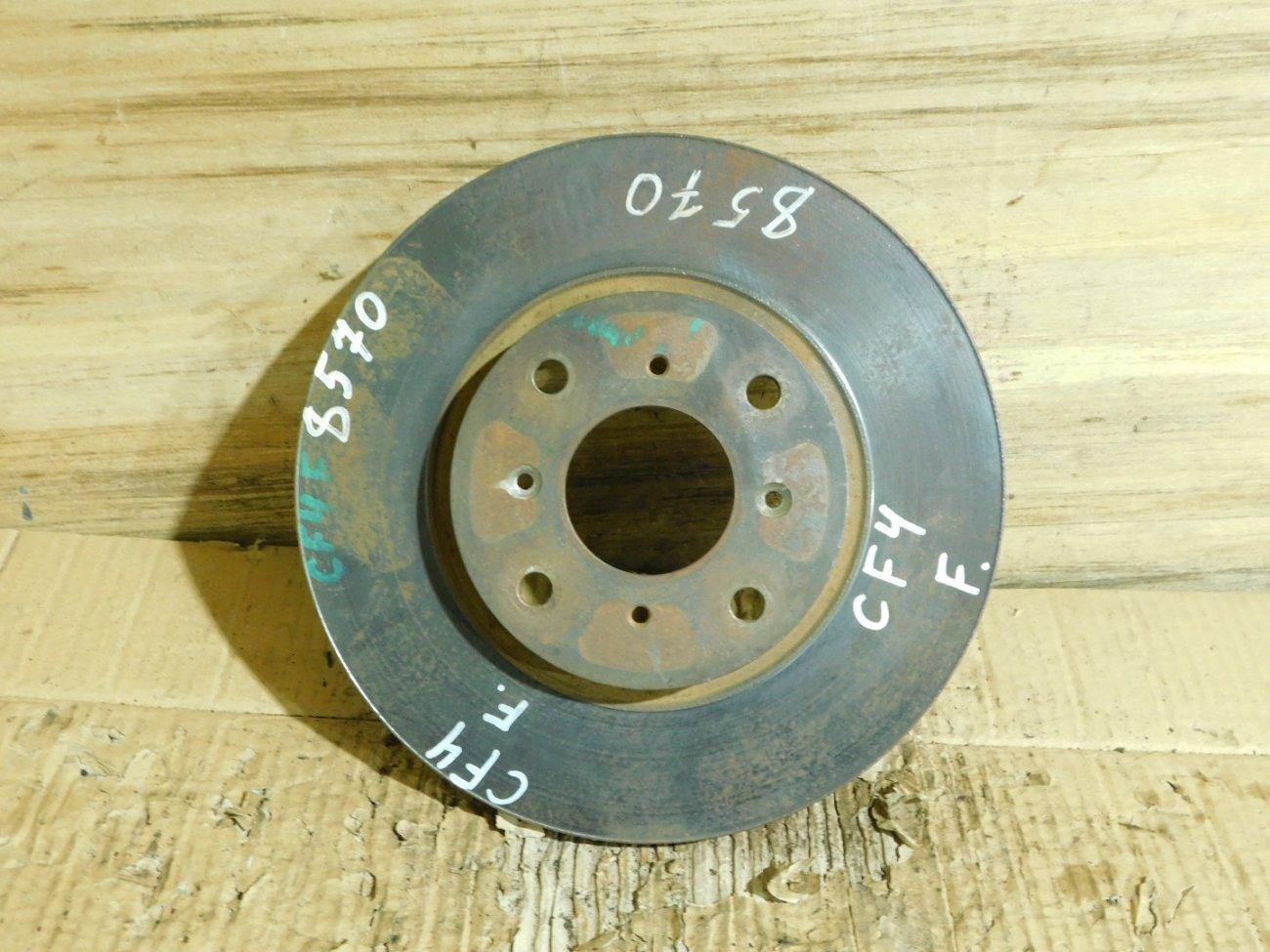 Тормозной диск Honda Accord CF4 F20B передний (б/у)