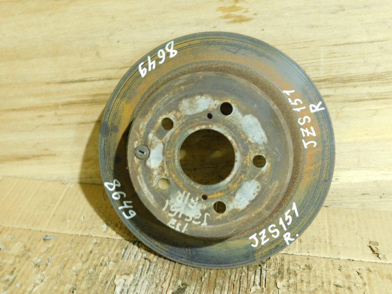 Тормозной диск Toyota Crown JZS155 задний (б/у)
