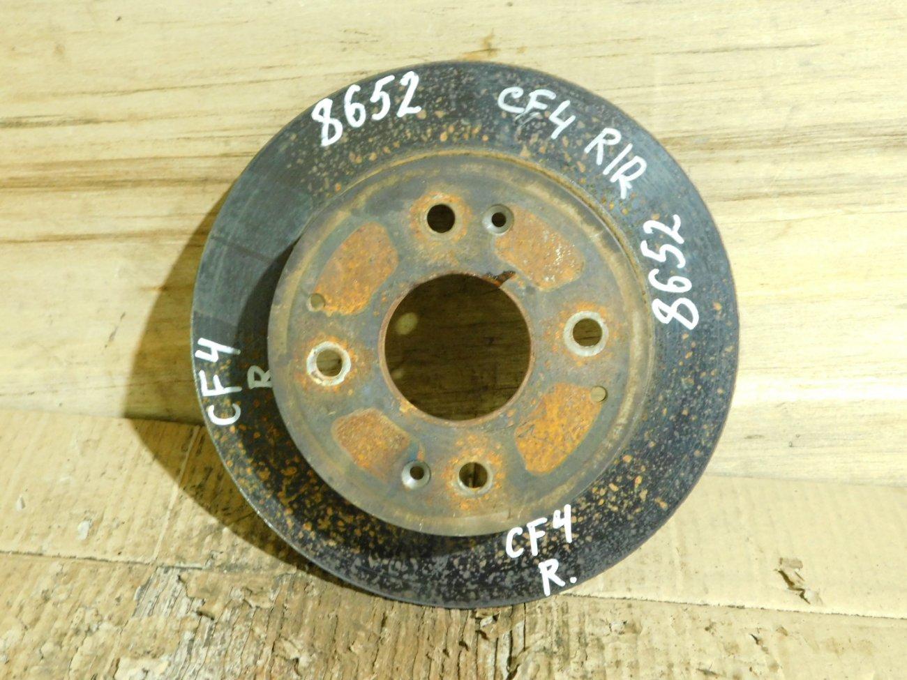 Тормозной диск Honda Accord CF3 F18B задний (б/у)