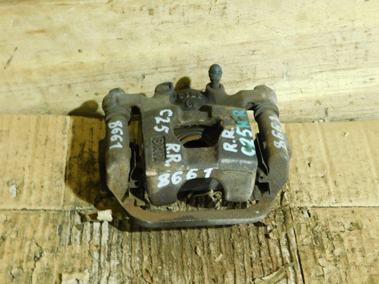 Суппорт Nissan Serena C25 MR20DE задний правый (б/у)