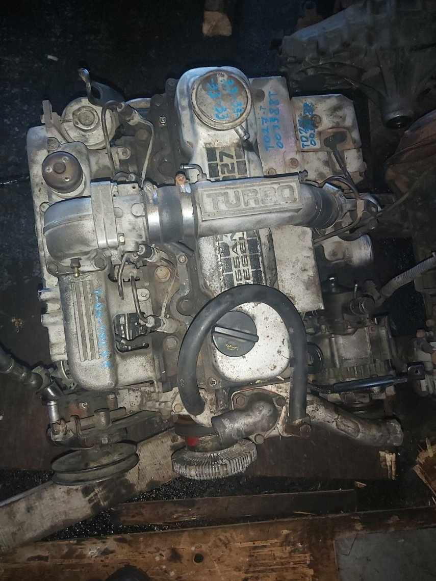 Двигатель Nissan Mistral R20 TD27T (б/у)
