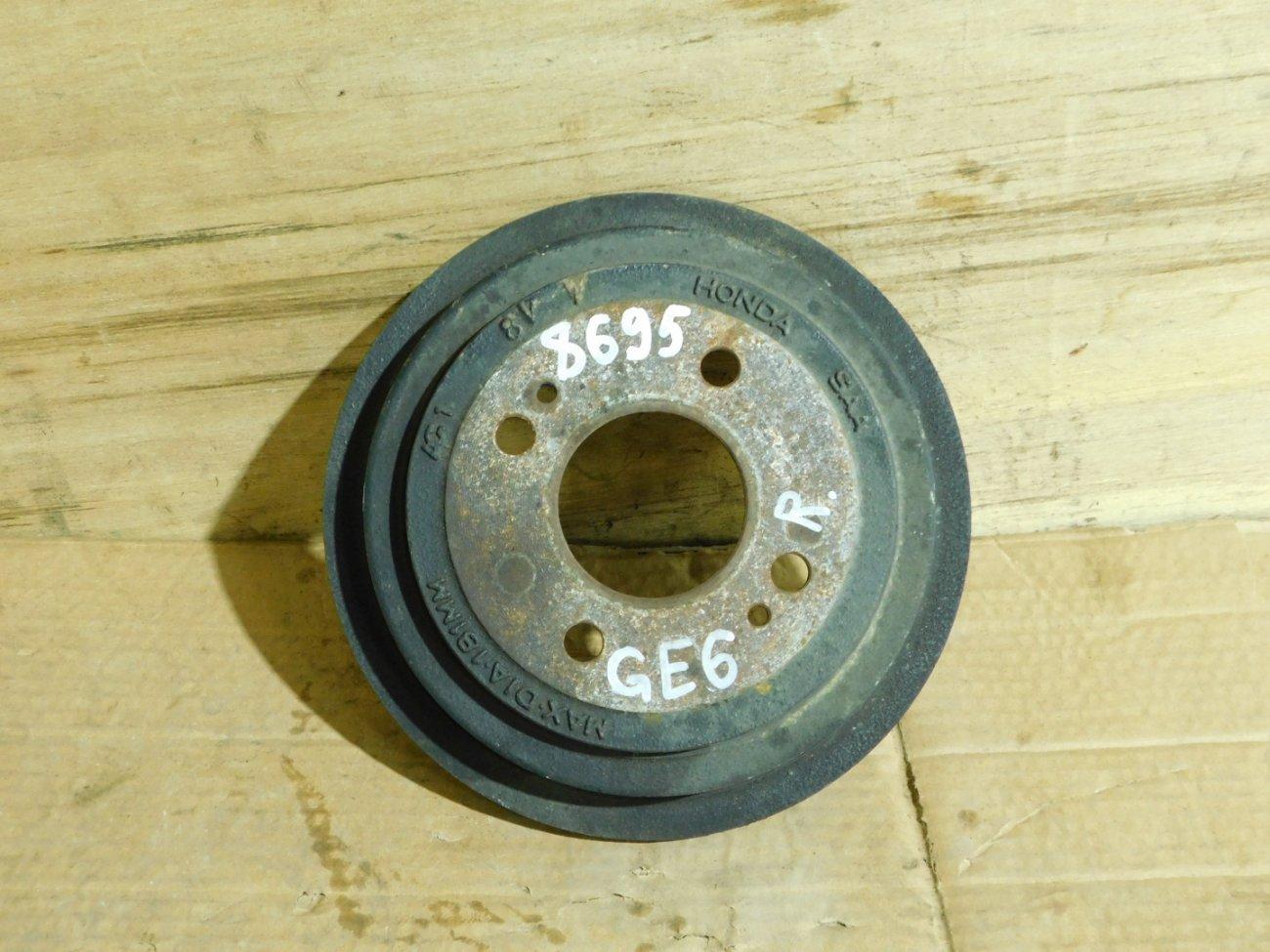 Тормозной барабан Honda Fit GE6 L13A задний (б/у)