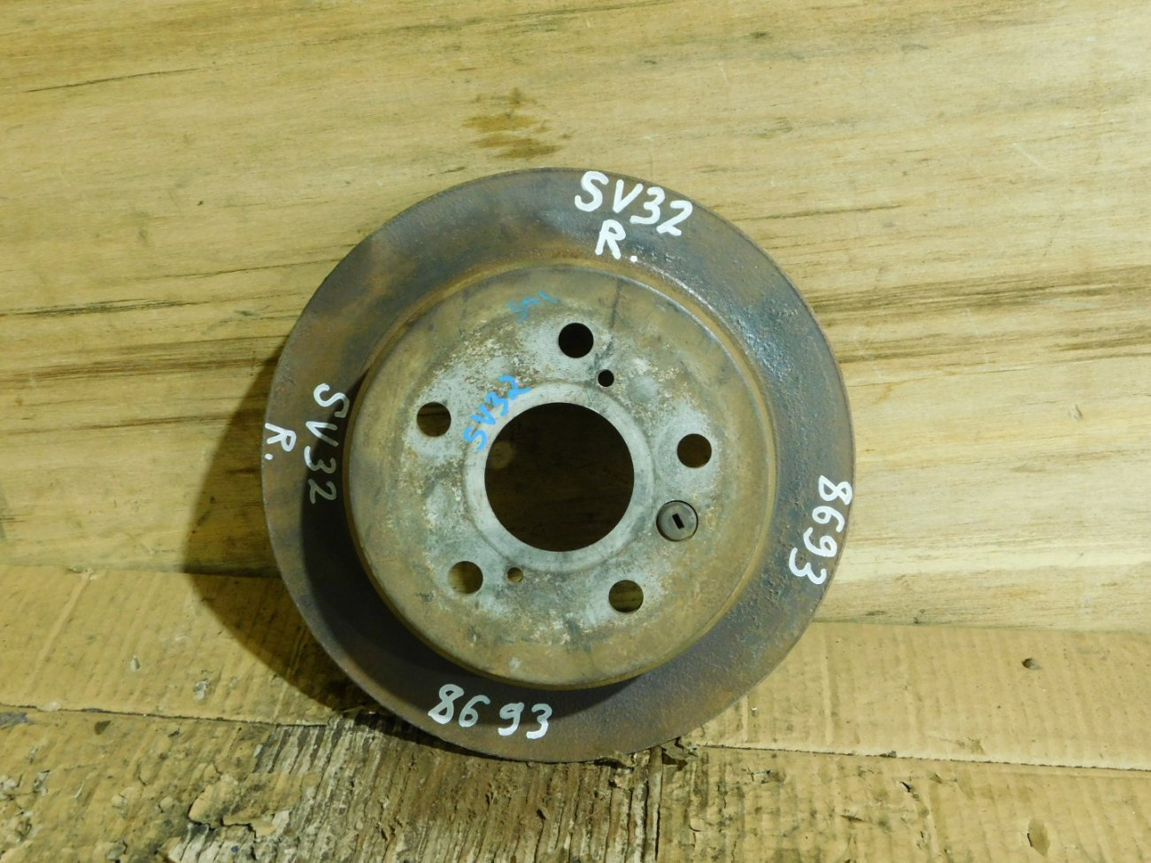 Тормозной диск Toyota Vista SV32 3S FE задний (б/у)