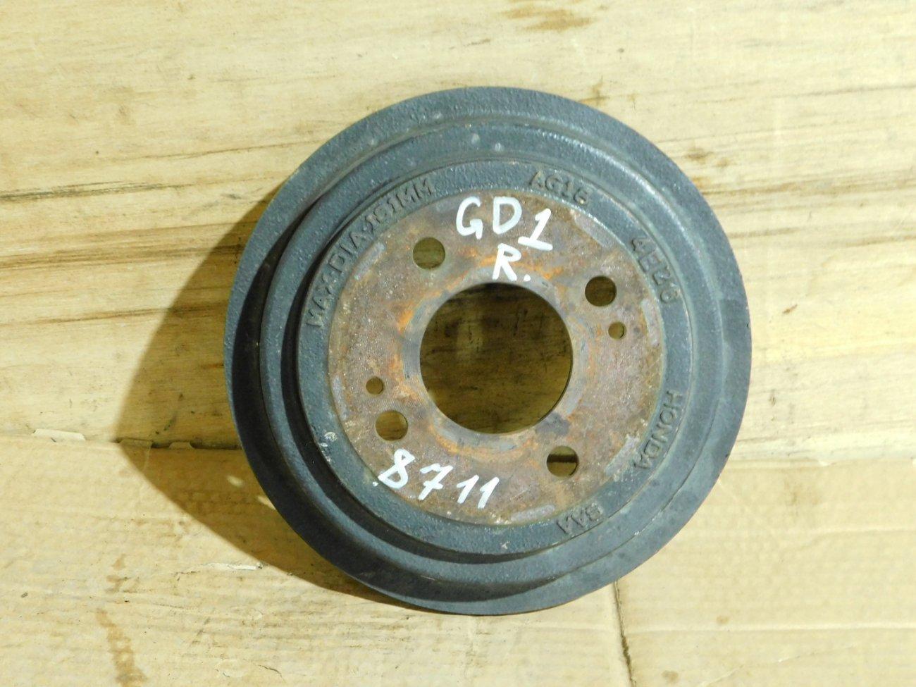 Тормозной барабан Honda Fit GE6 L13A (б/у)