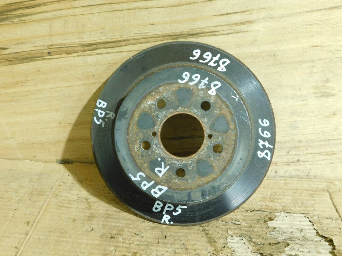 Тормозной диск Subaru Forester BE5 EJ203 задний (б/у)