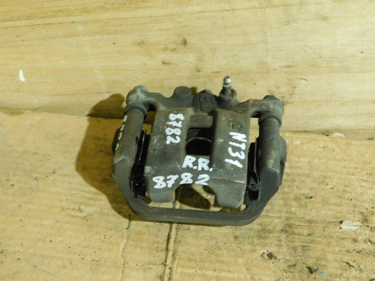 Суппорт Nissan X-Trail NT31 MR20DE задний правый (б/у)