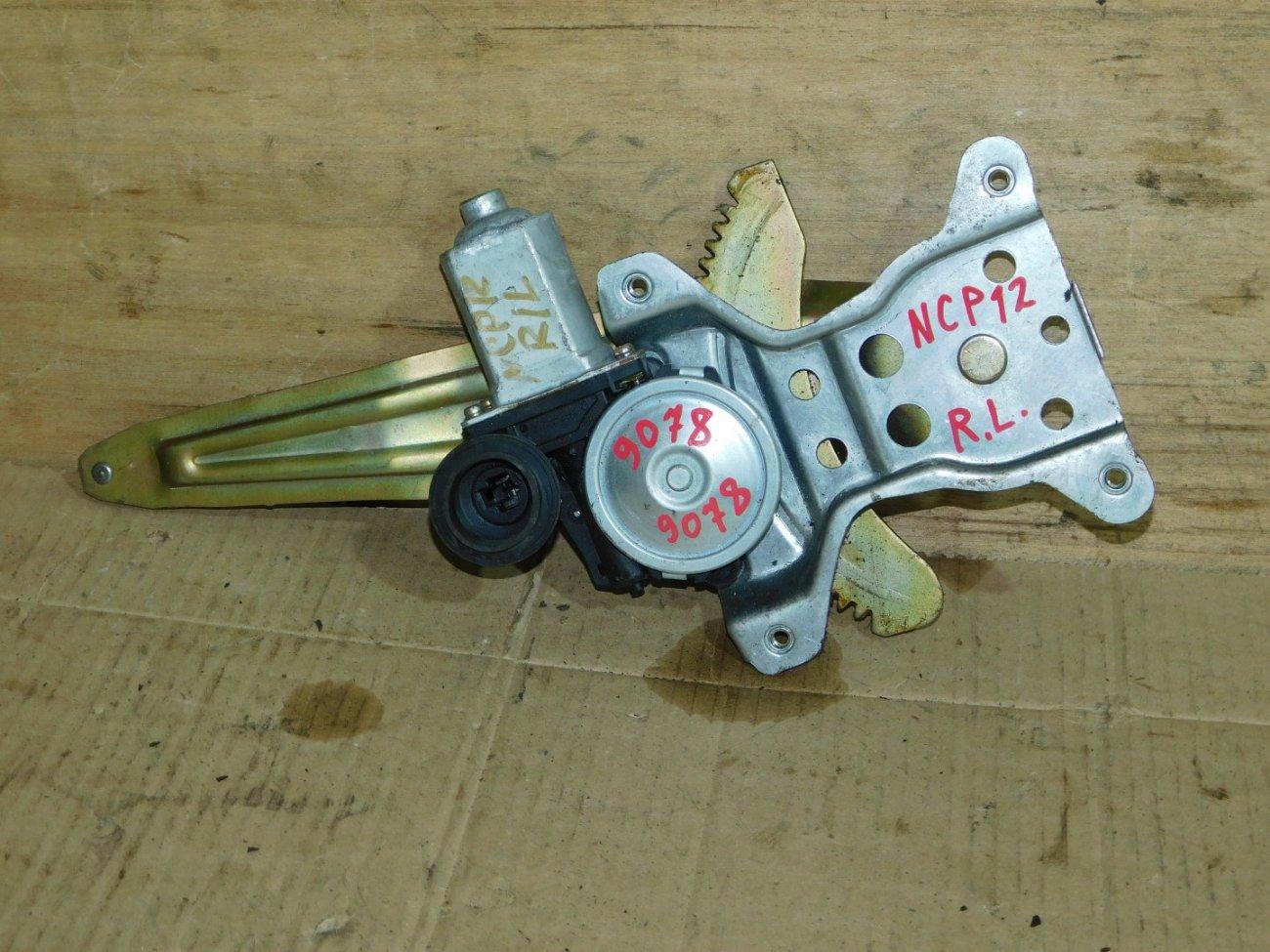 Стеклоподъемник Toyota Platz SCP10 1NZ-FE задний левый (б/у)
