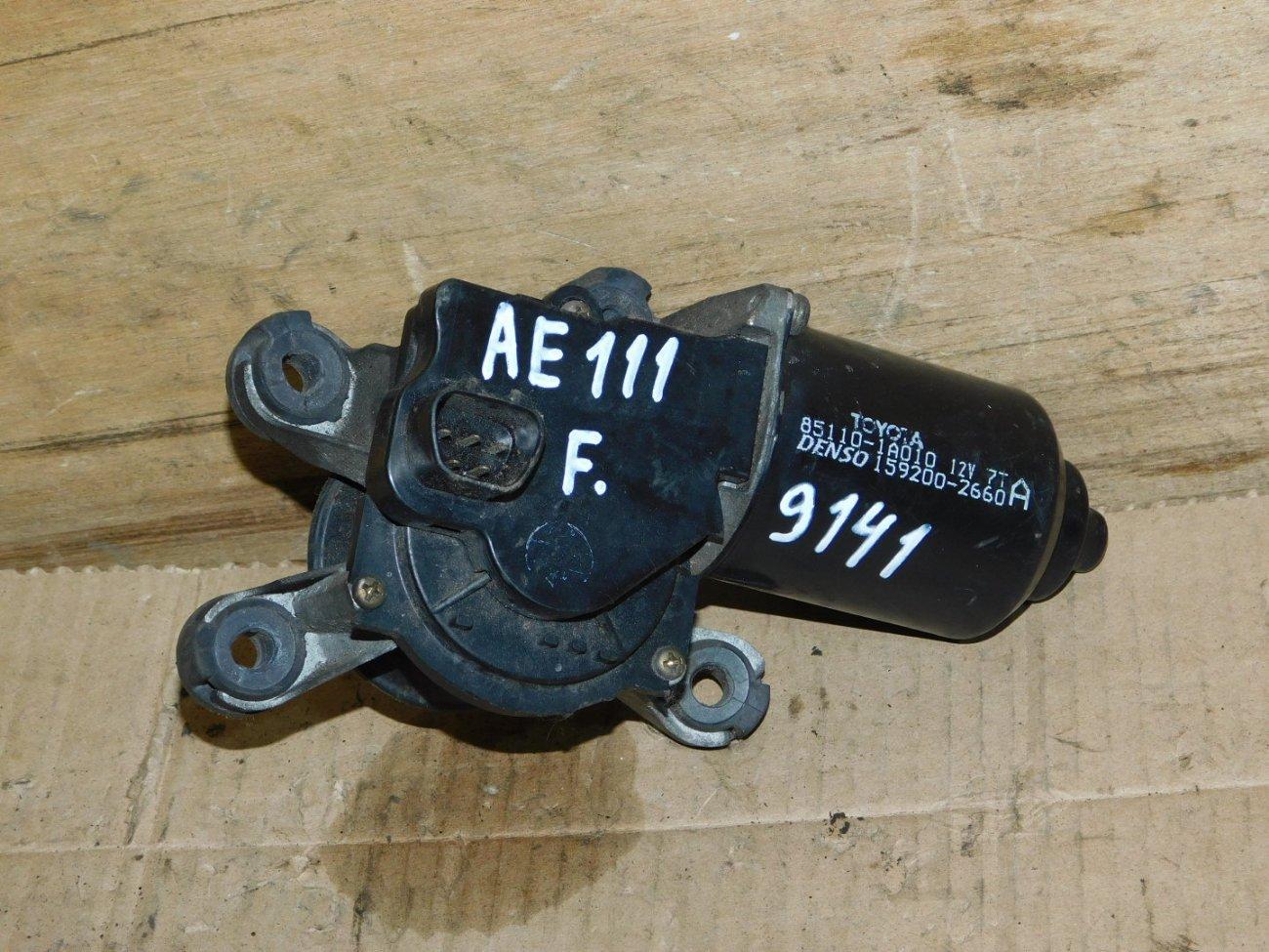 Мотор дворников Toyota Corolla AE100 4A-FE передний (б/у)