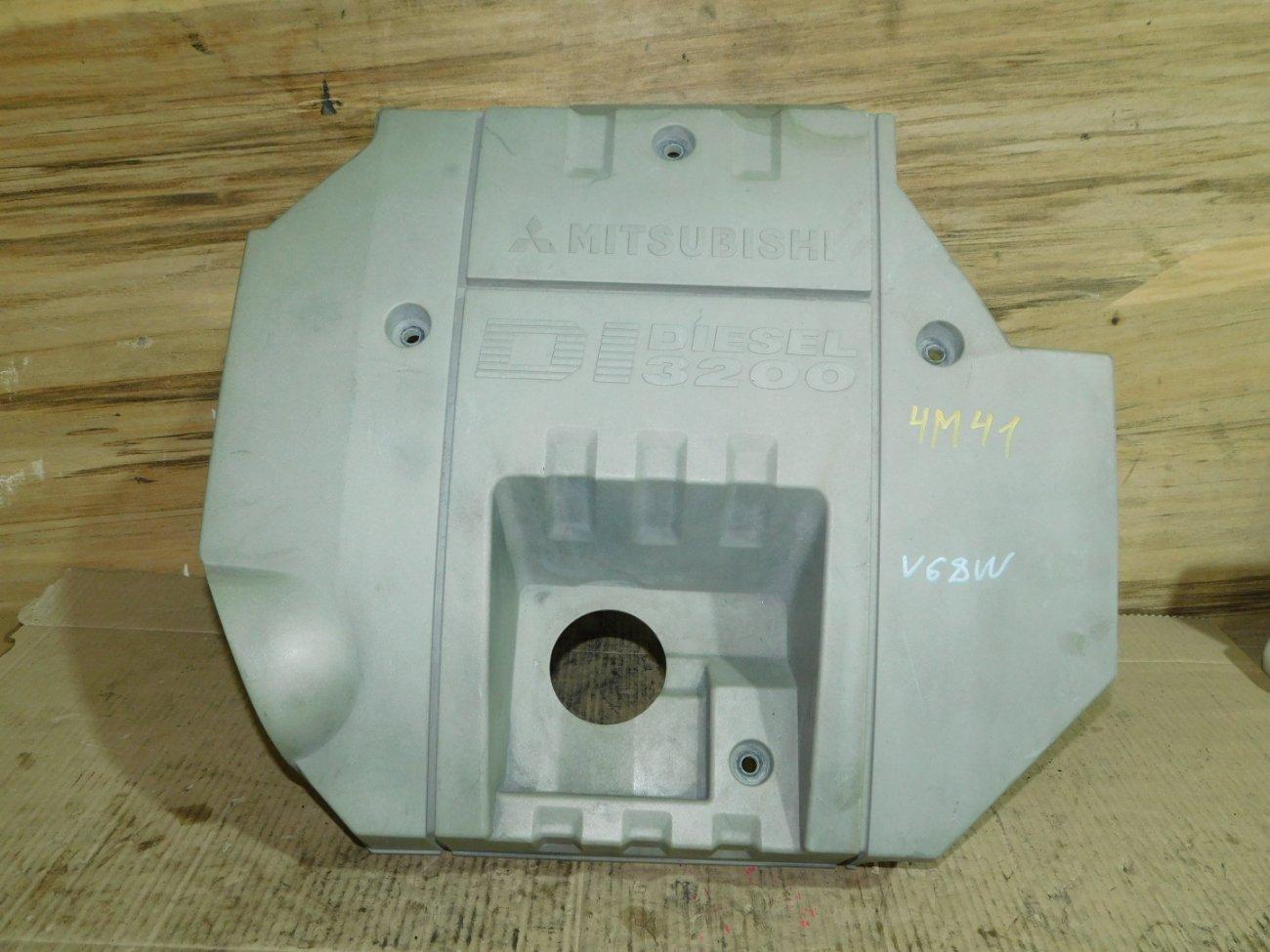 Декоративная крышка двс Mitsubishi Pajero V68W 4M41 (б/у)