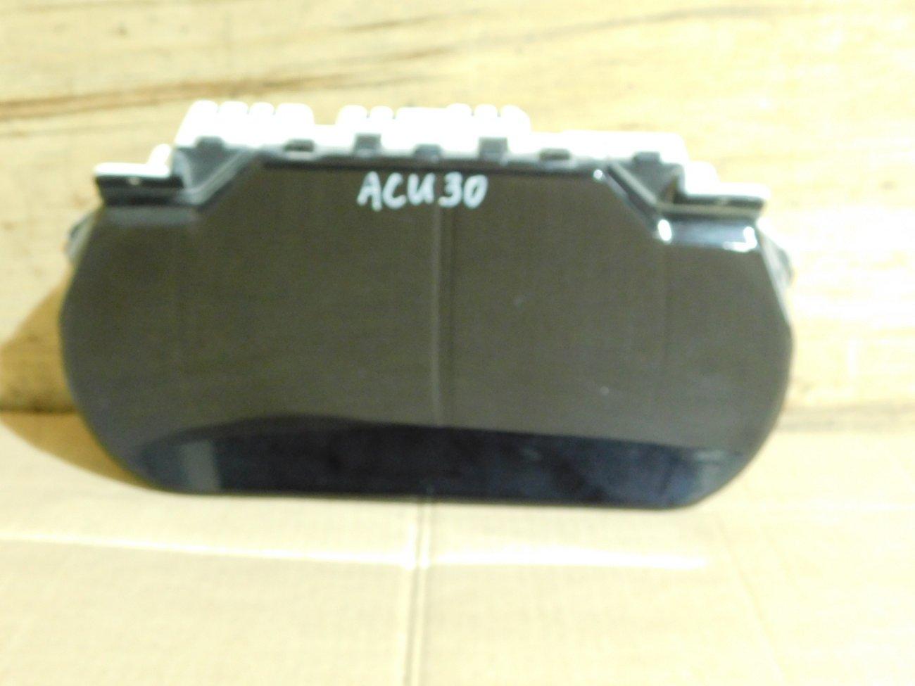 Спидометр Toyota Harrier ACU30 2AZ-FE (б/у)