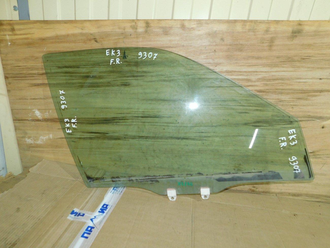 Стекло двери Honda Civic Ferio EK3 переднее правое (б/у)