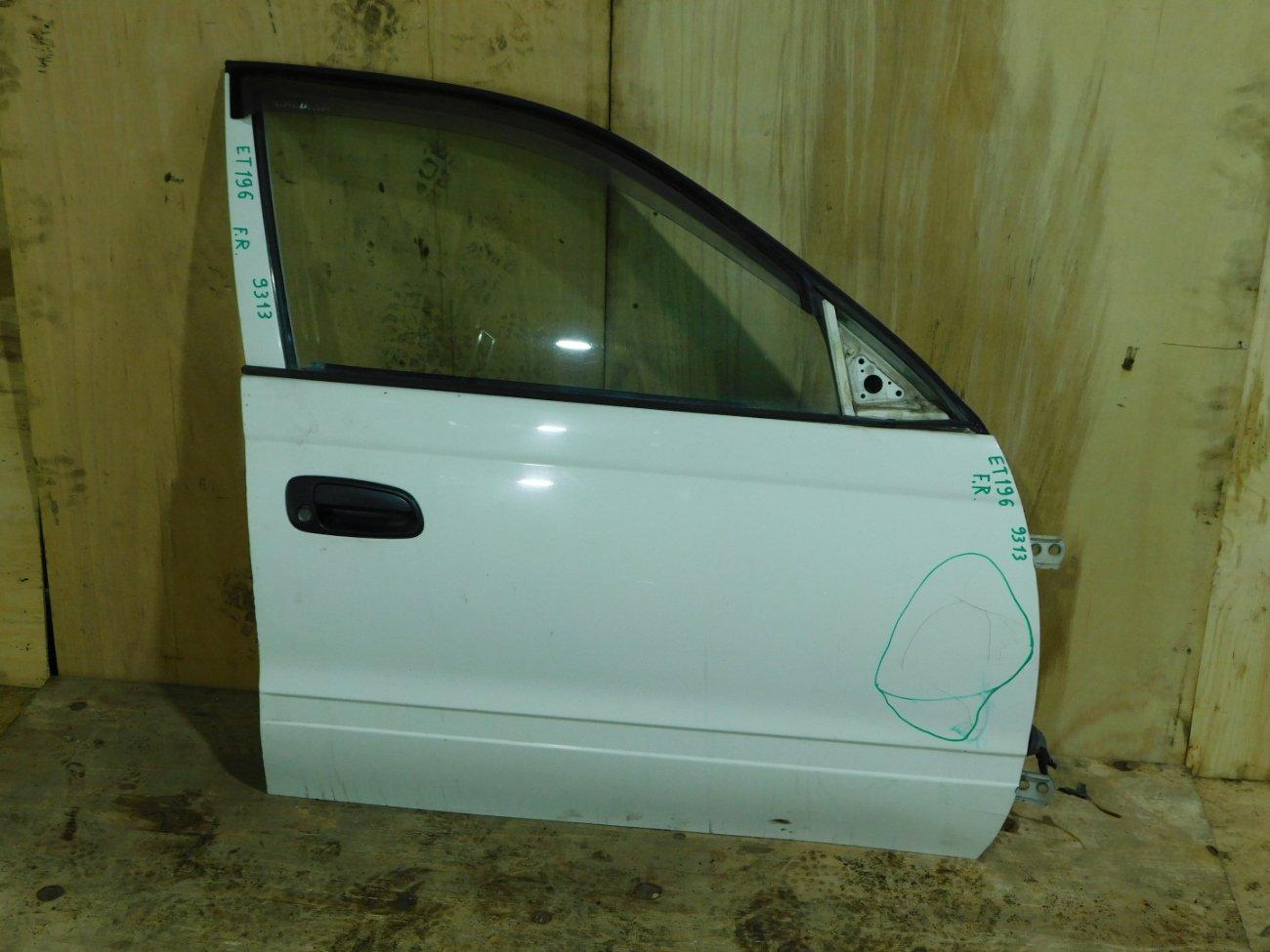 Дверь Toyota Caldina ET196 передняя правая (б/у)