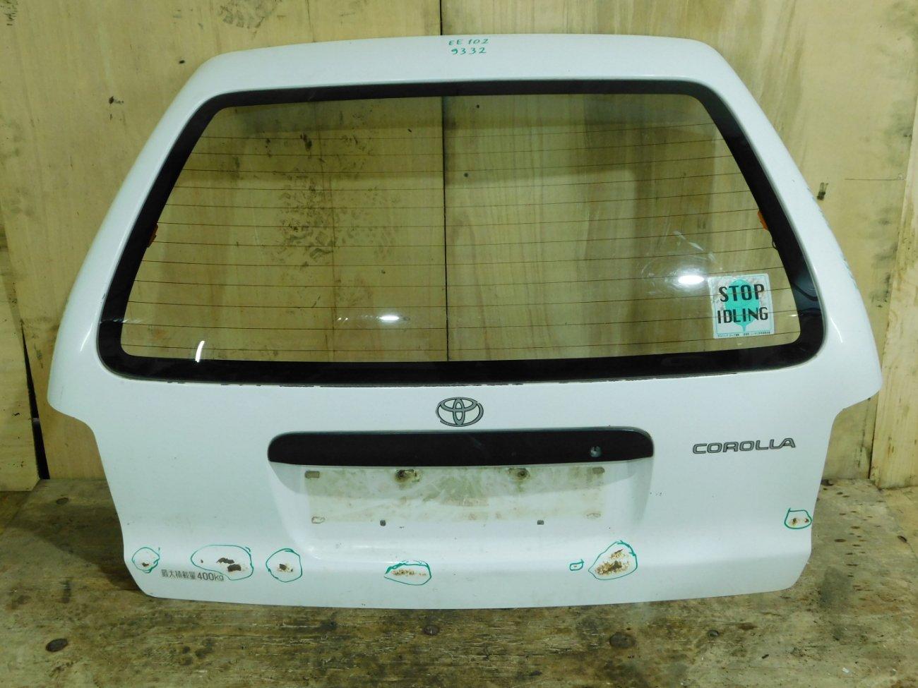 Дверь 5-я Toyota Corolla EE102 4E-FE (б/у)