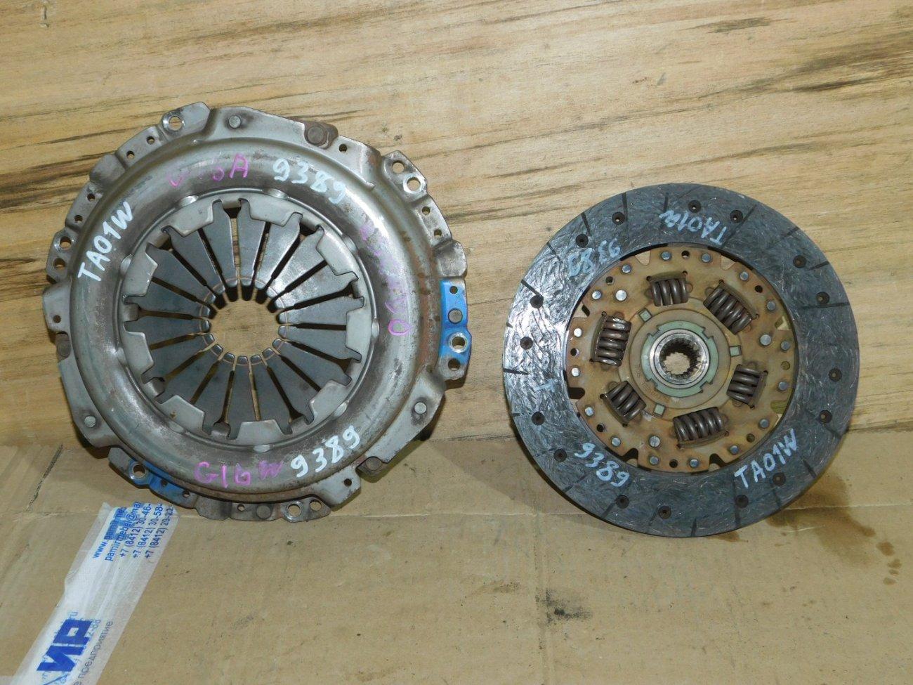 Корзина сцепления+диск Suzuki Escudo TA01W G16A (б/у)