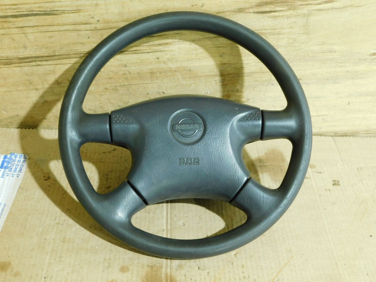 Руль с airbag Nissan Ad VY11 QG13DE (б/у)