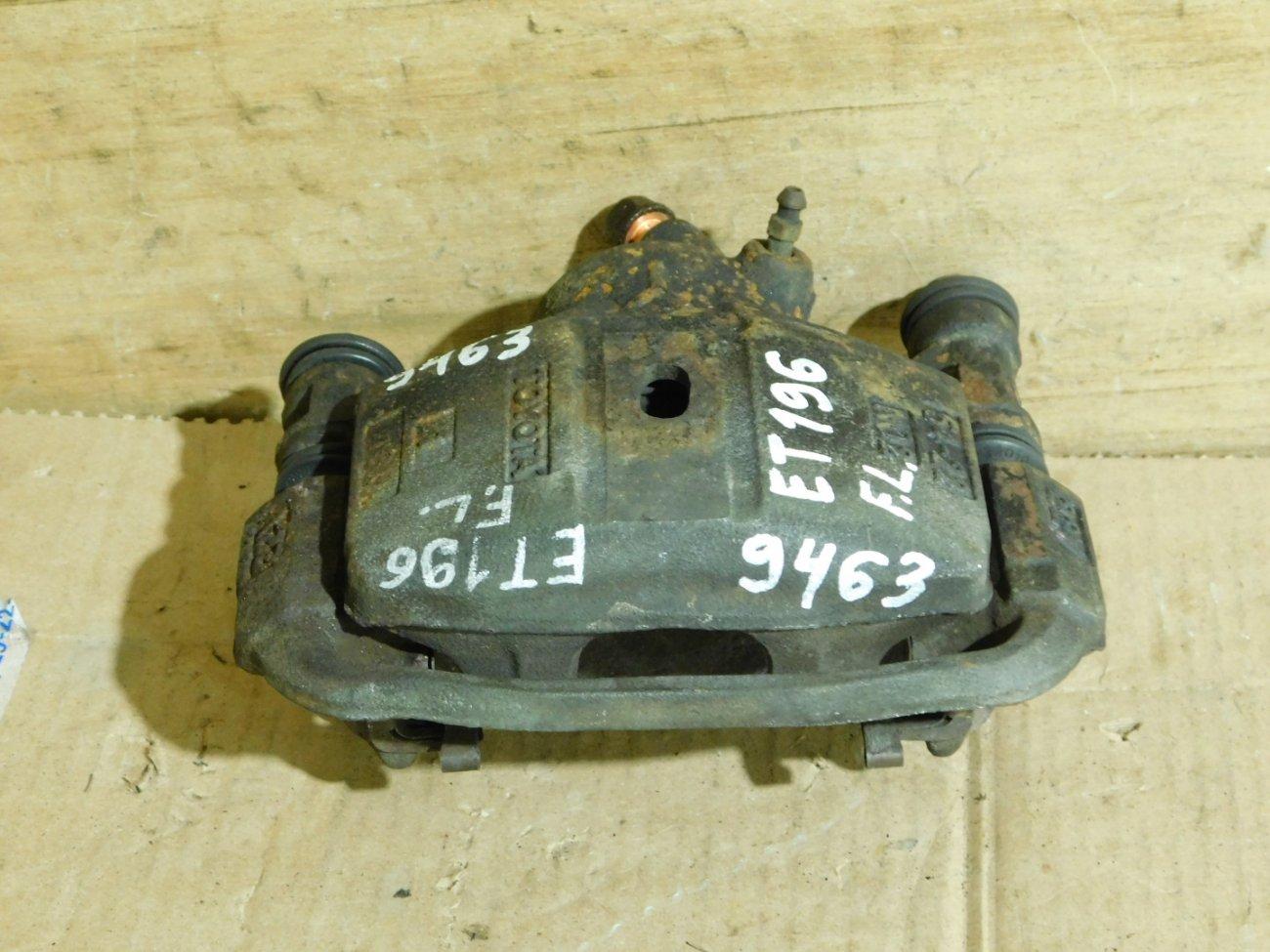 Суппорт Toyota Caldina ET196 5E-FE передний левый (б/у)
