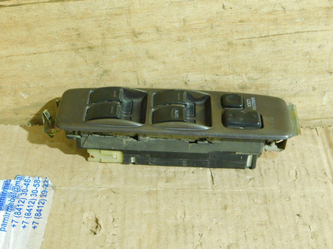 Блок управления стеклоподъемниками Toyota Vista SV32 передний правый (б/у)