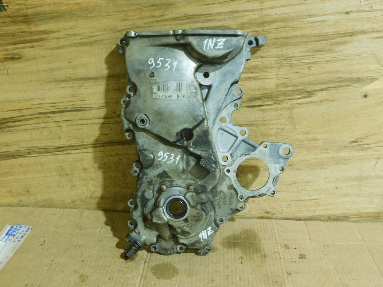 Лобовина двс Toyota 1NZ-FE (б/у)