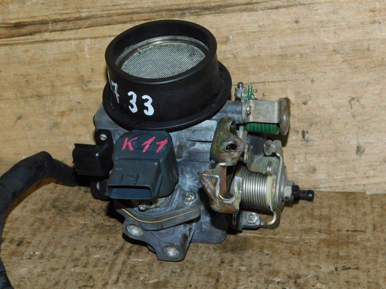 Дроссельная заслонка Nissan March K11 CGA3 (б/у)
