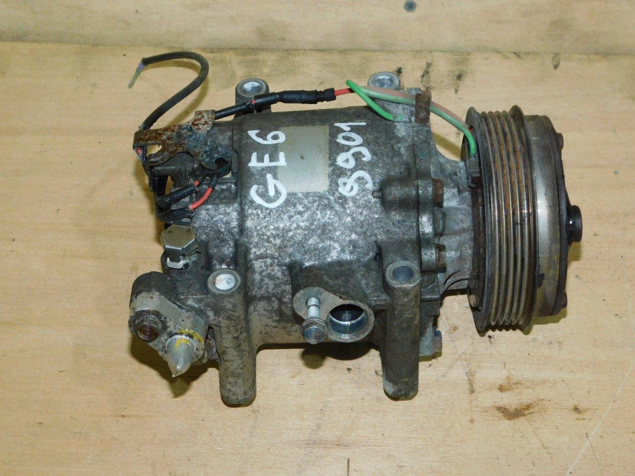 Компрессор кондиционера Honda Fit GE6 L13A (б/у)