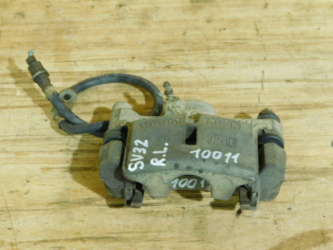 Суппорт Toyota Vista SV32 3S-FE задний левый (б/у)
