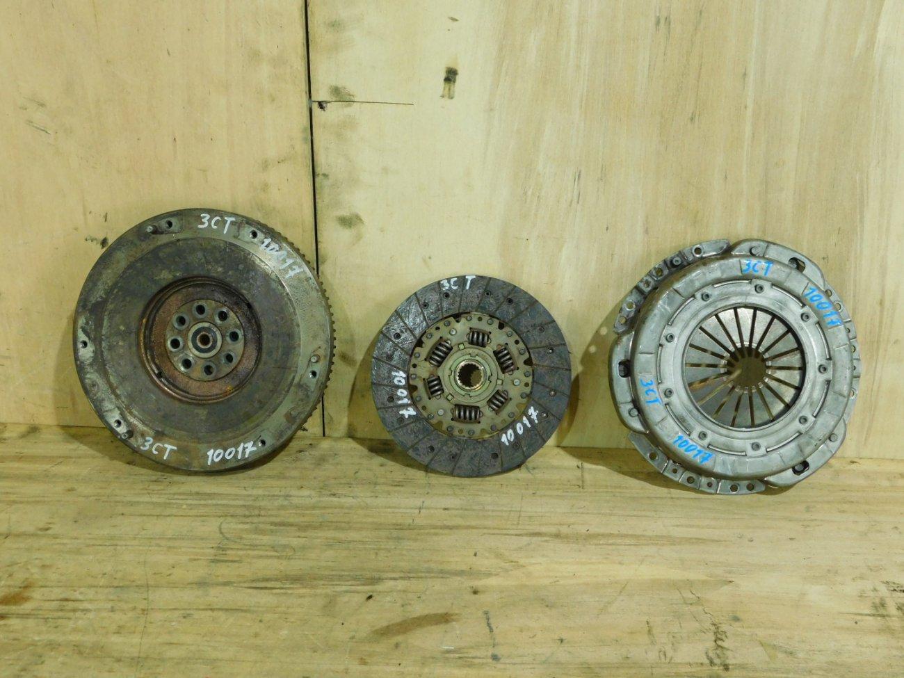 Корзина сцепления+диск Toyota 3CT (б/у)