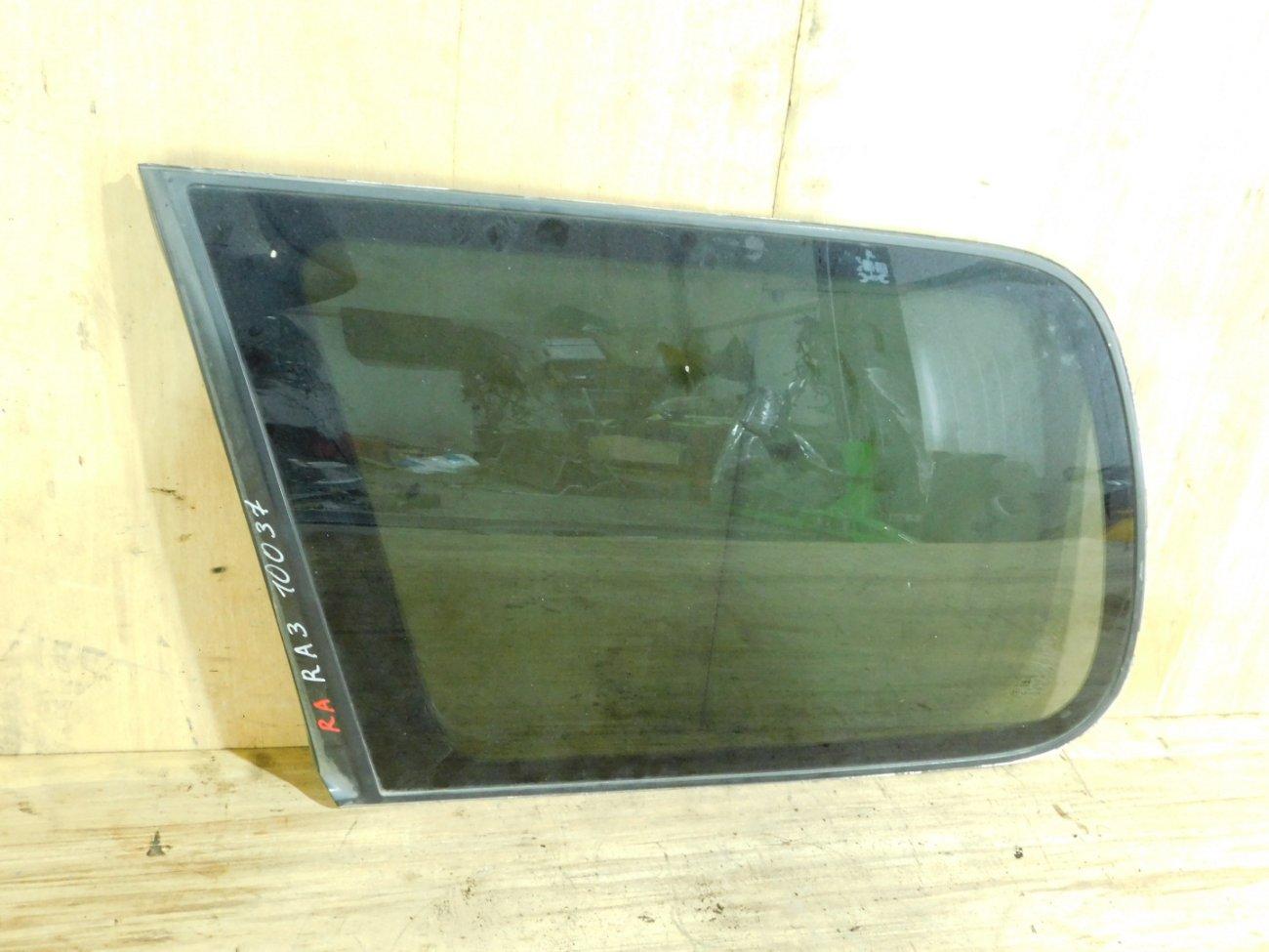 Стекло собачника Honda Odyssey RA3 заднее левое (б/у)