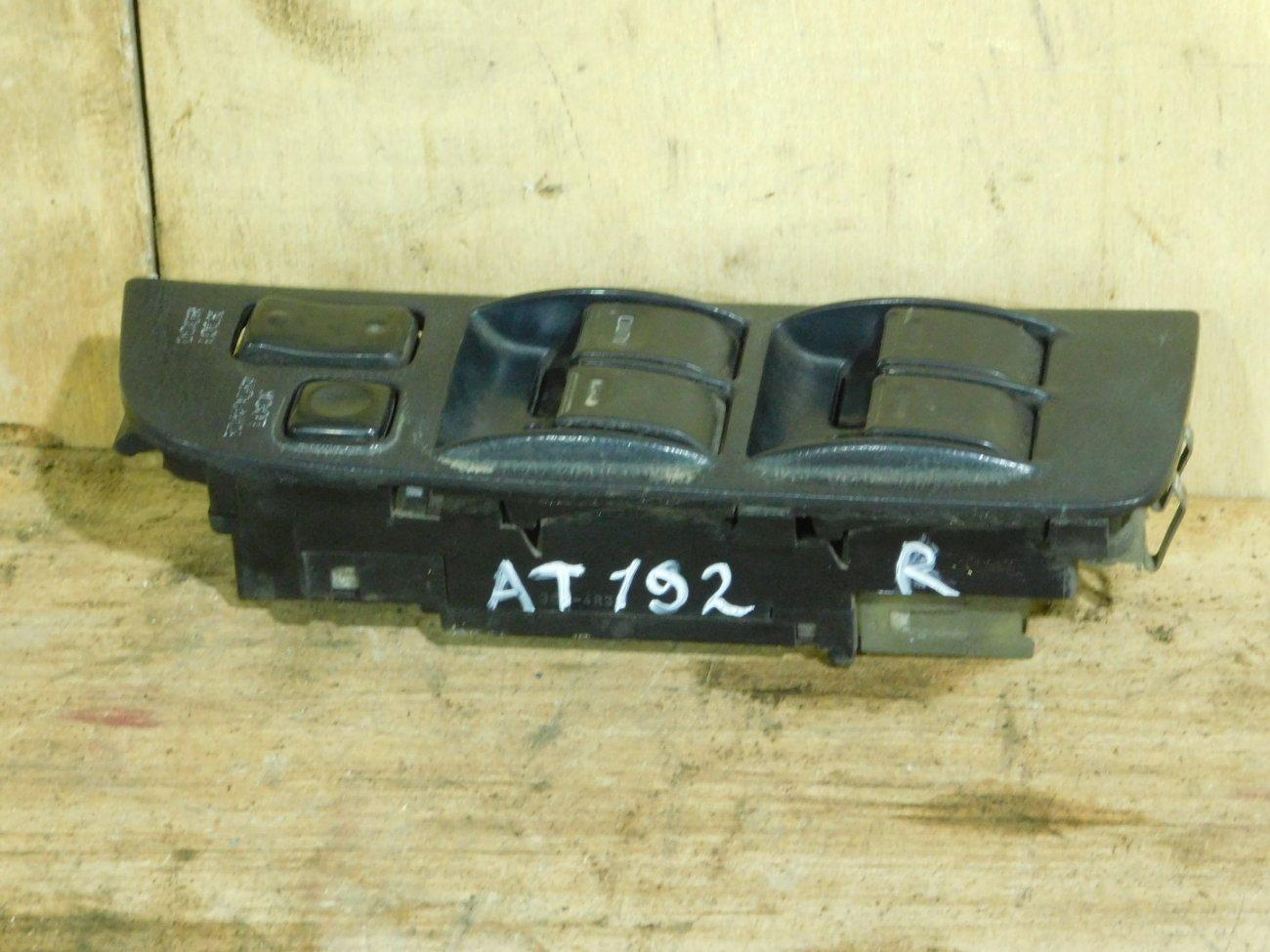 Блок упр. стеклоподьемниками Toyota Carina AT192 передний правый (б/у)