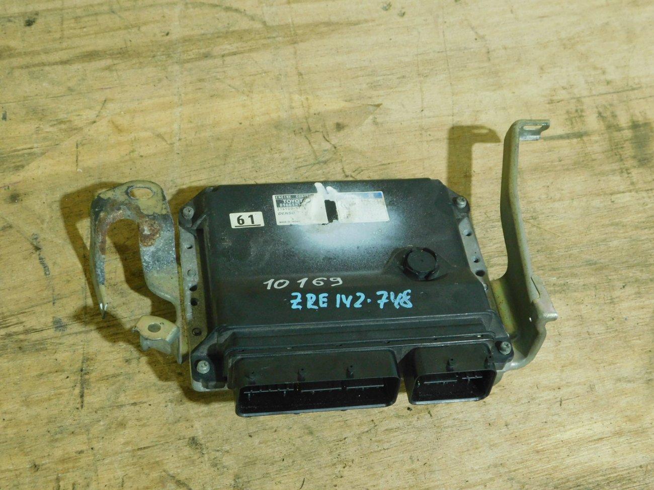 Блок управления efi Toyota Corolla Axio ZRE142 2ZR-FE (б/у)