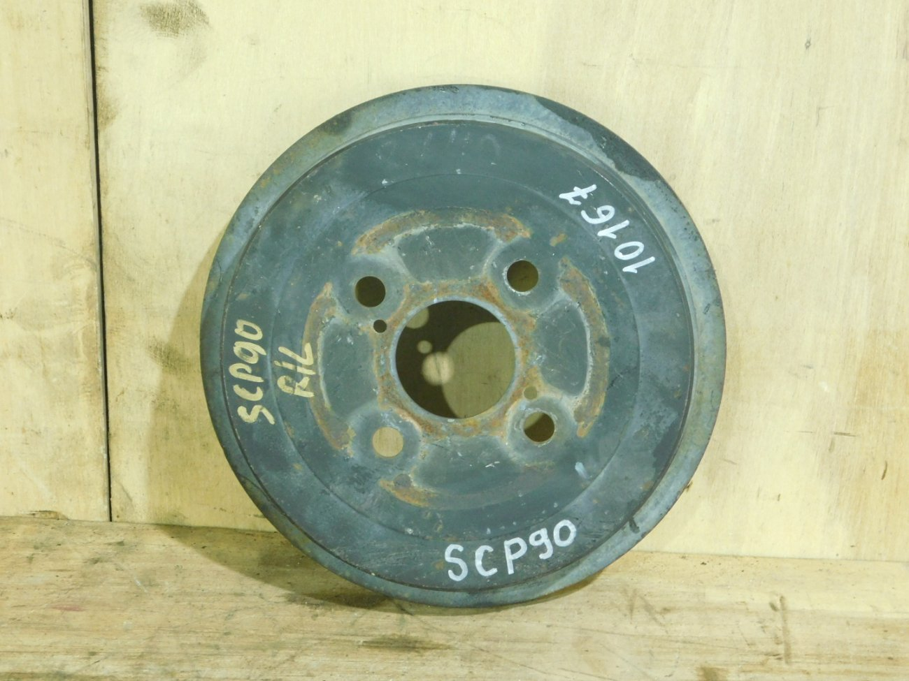 Тормозной барабан Toyota Vitz SCP90 задний (б/у)