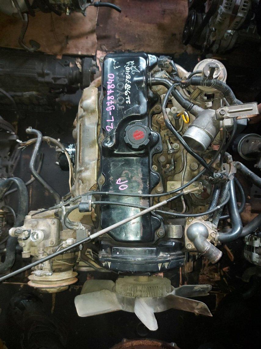 Двигатель Toyota Hiace LH102 2L (б/у)