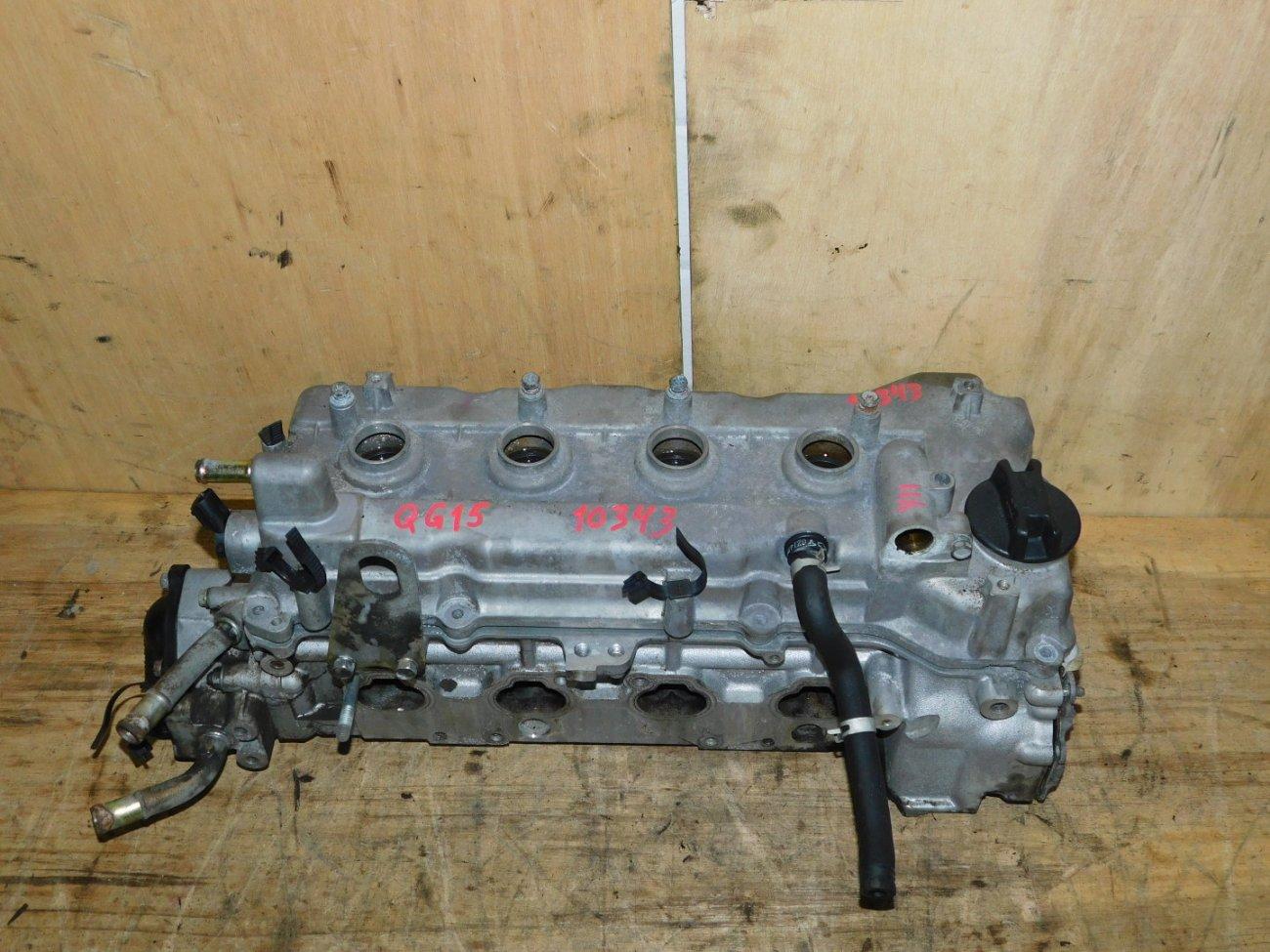 Головка блока цилиндров Nissan Ad VFY11 QG15DE (б/у)