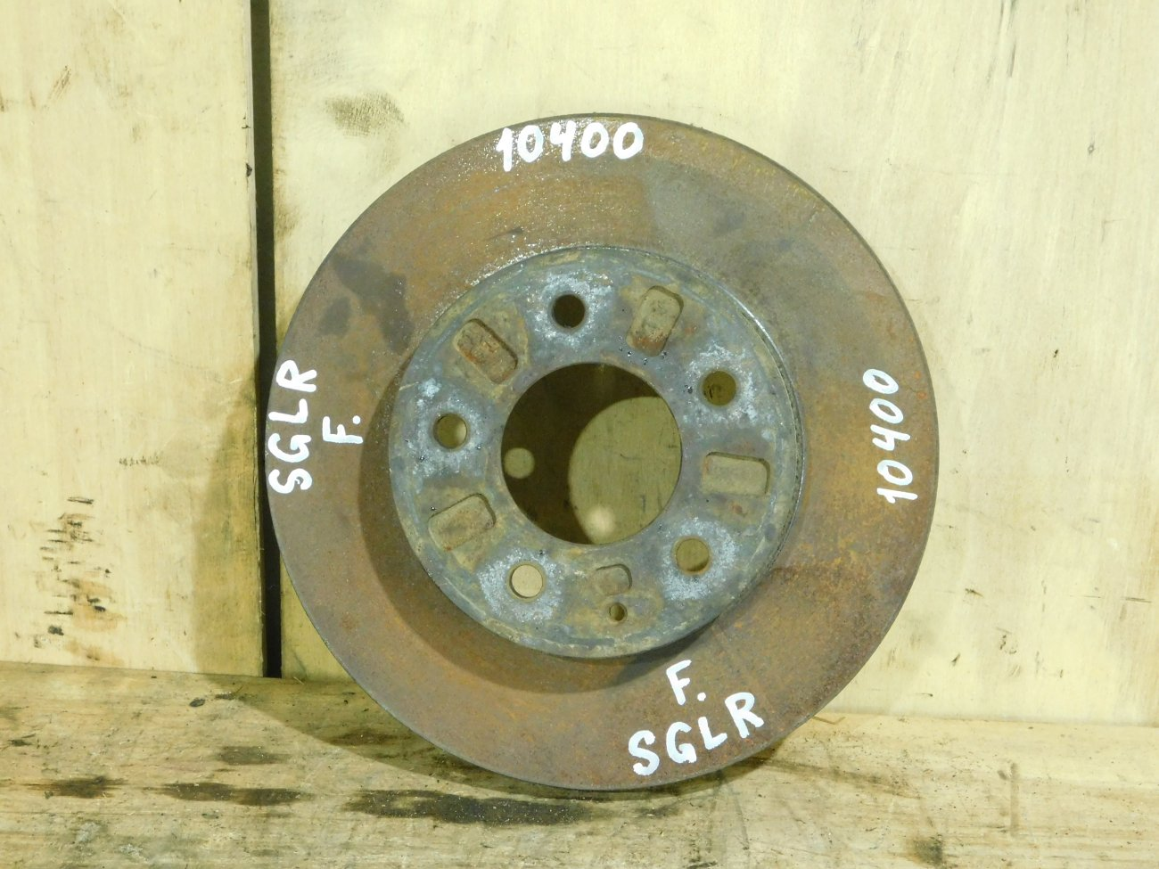 Тормозной диск Mazda Bongo Friendee SGLR WLT передний (б/у)