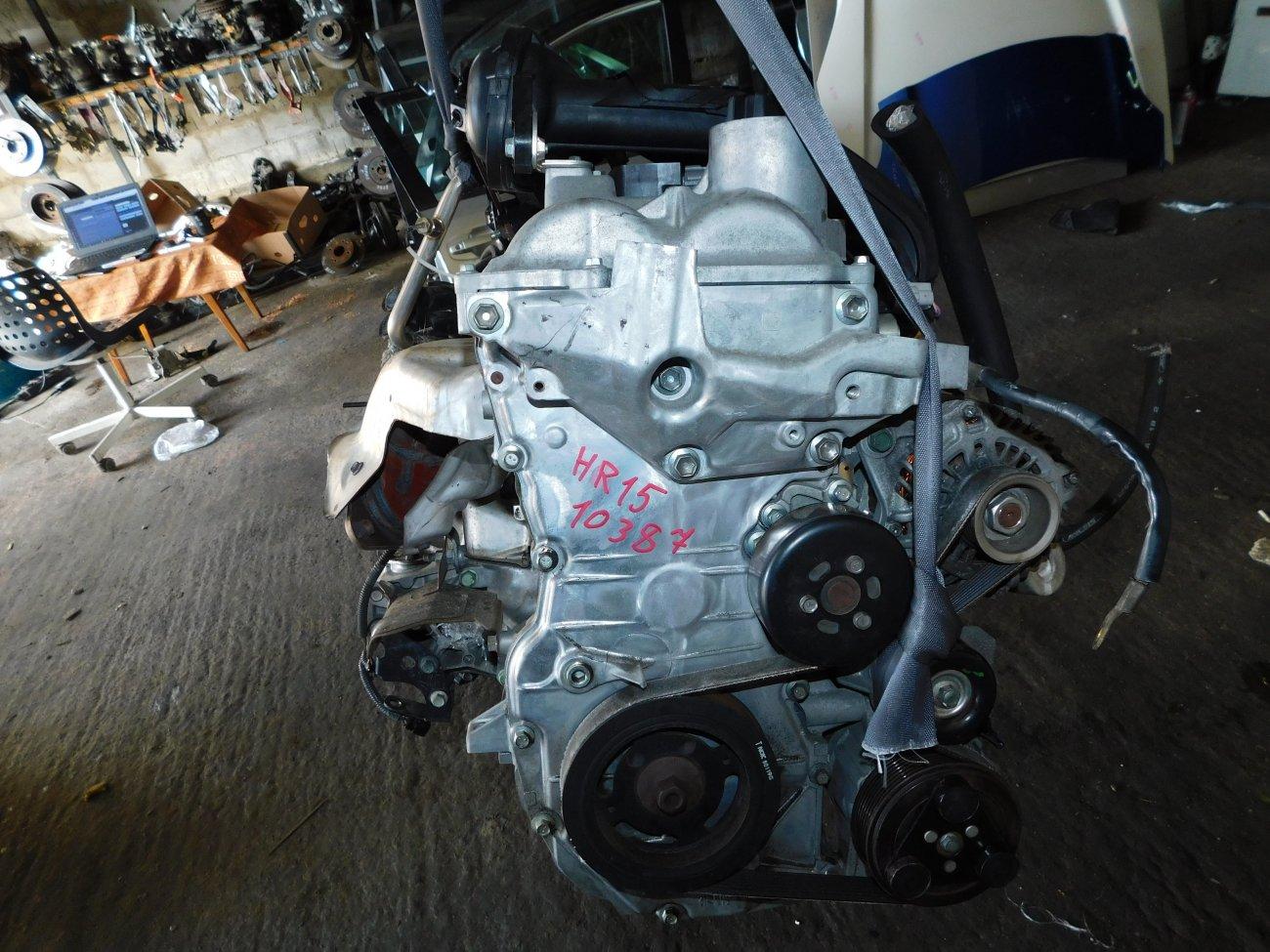 Двигатель Nissan Sylphy G11 HR15DE (б/у)