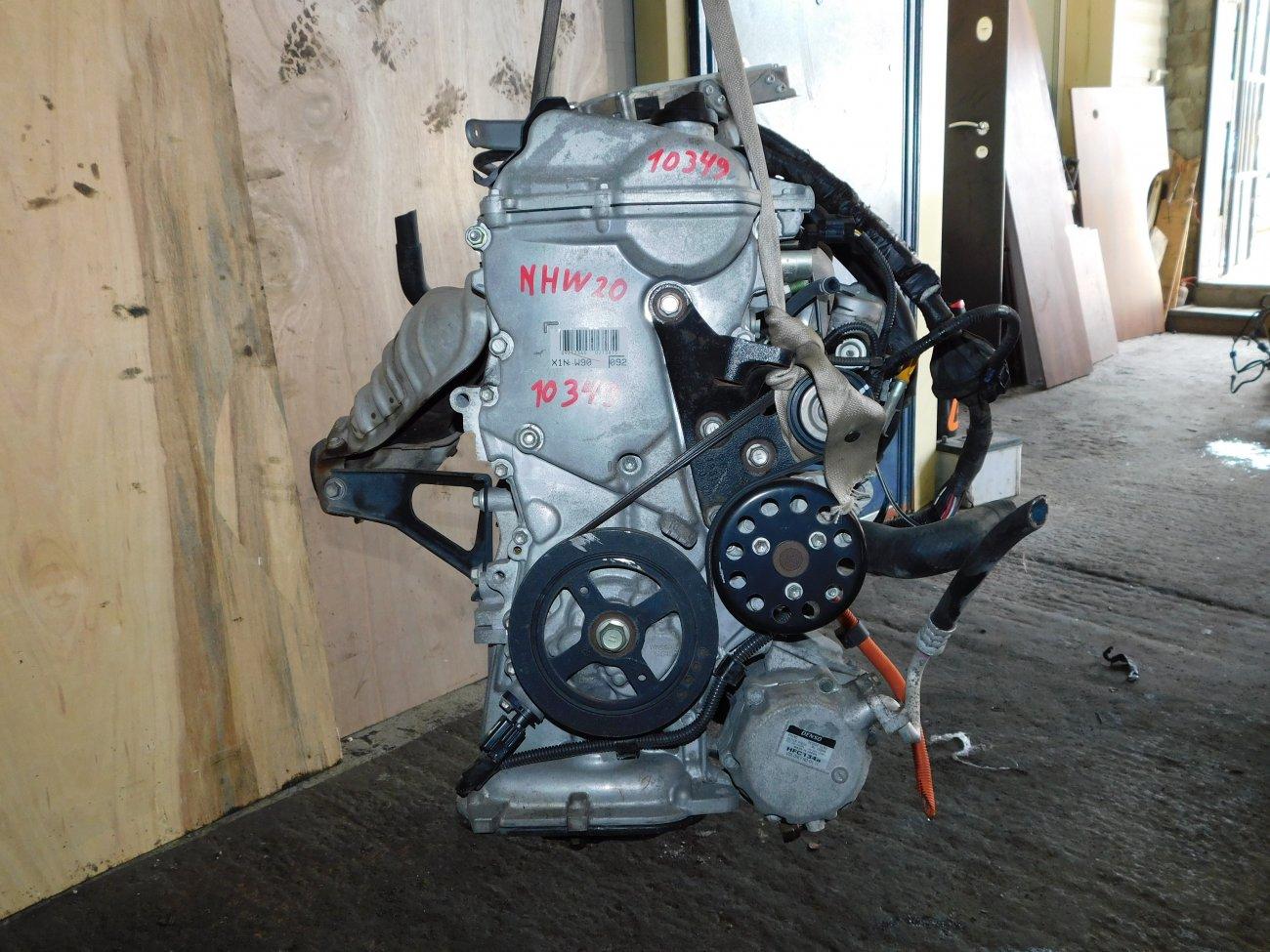 Двигатель Toyota Prius NHW20 1NZ-FXE (б/у)