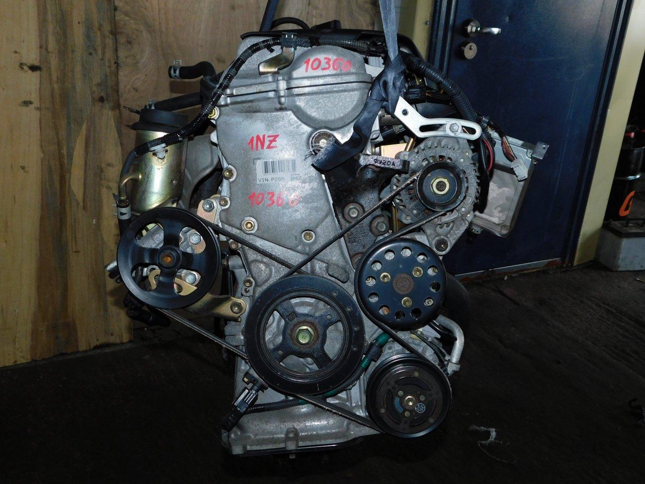 Двигатель Toyota Platz NCP12 1NZ-FE (б/у)