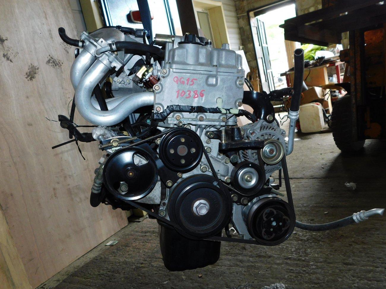 Двигатель Nissan Bluebird Sylphy FG10 QG15DE (б/у)
