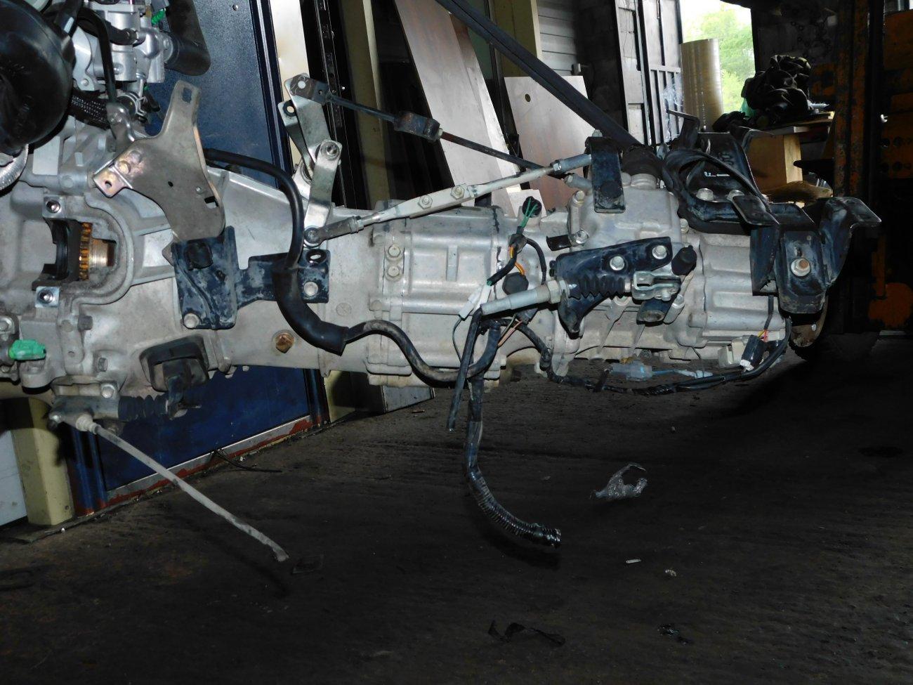 Мкпп Nissan Vanette SKP2MN L8 (б/у)
