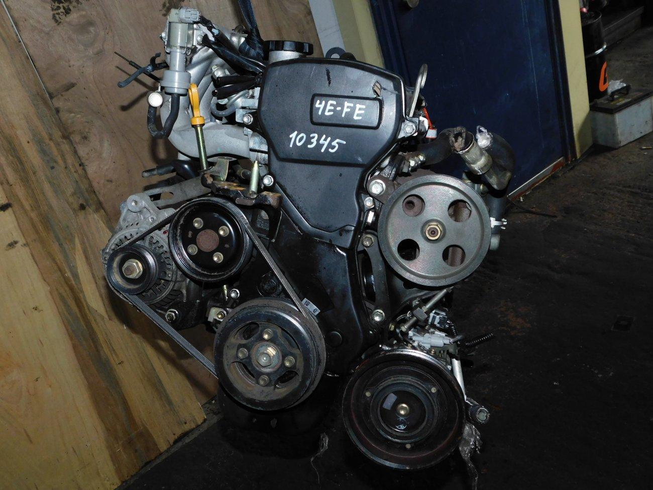 Двигатель Toyota Corolla EE101 4E-FE (б/у)