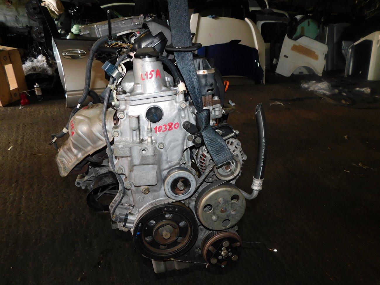 Двигатель Honda Fit Aria GD8 L15A (б/у)