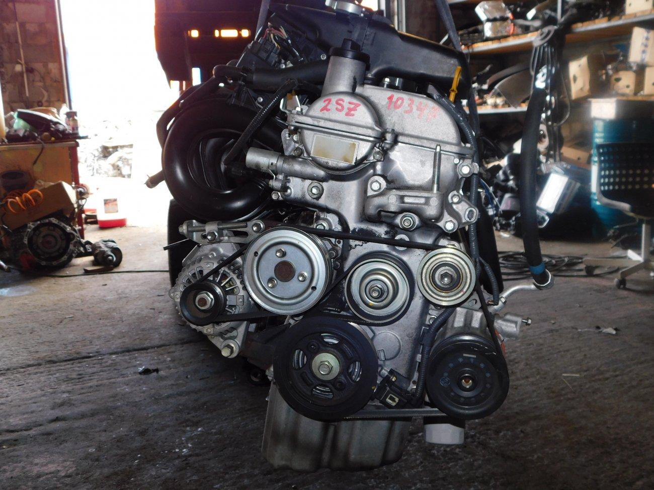 Двигатель Toyota Vitz SCP90 2SZ-FE (б/у)