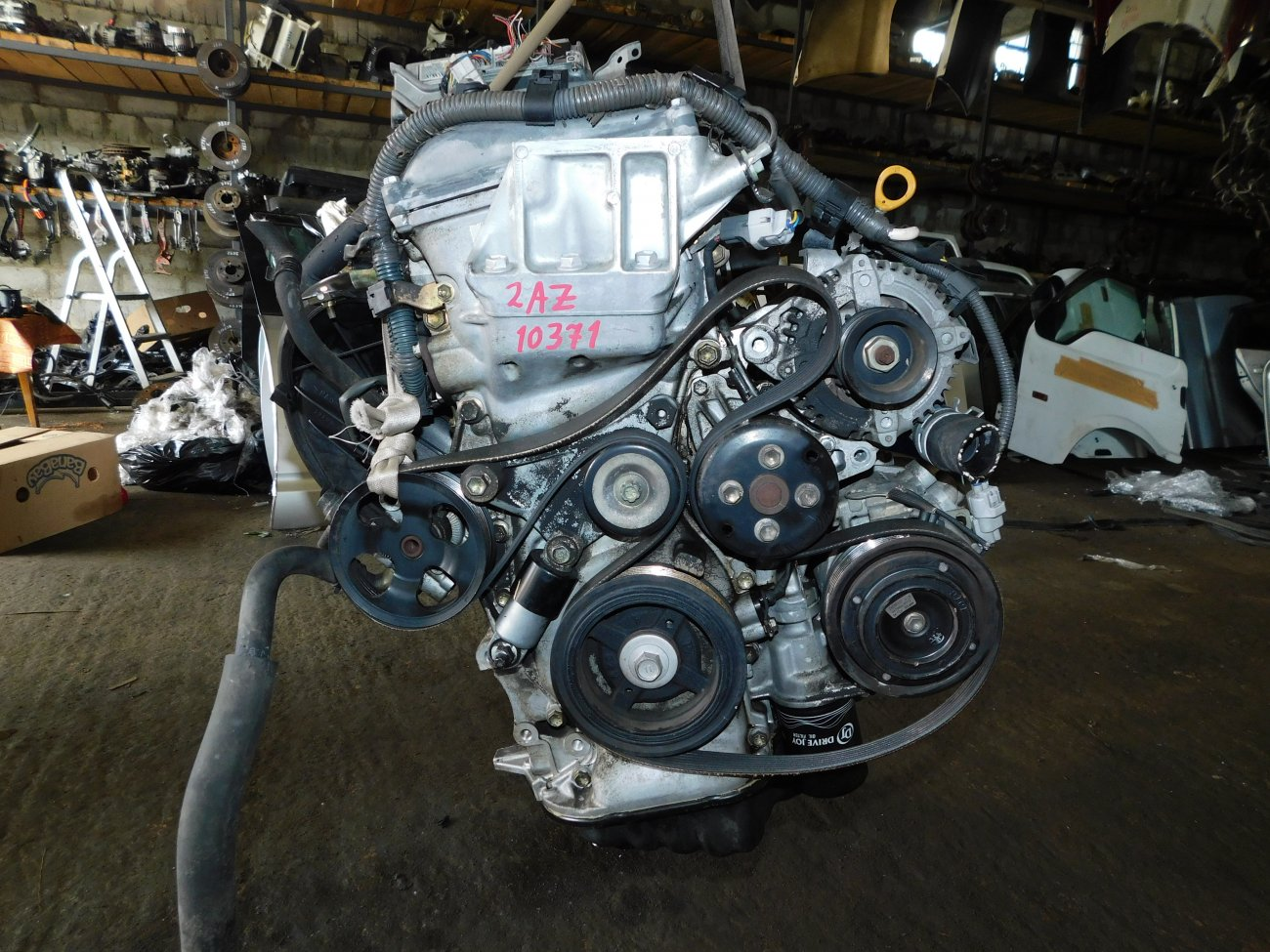 Двигатель Toyota Alphard ANH10 2AZ-FE (б/у)