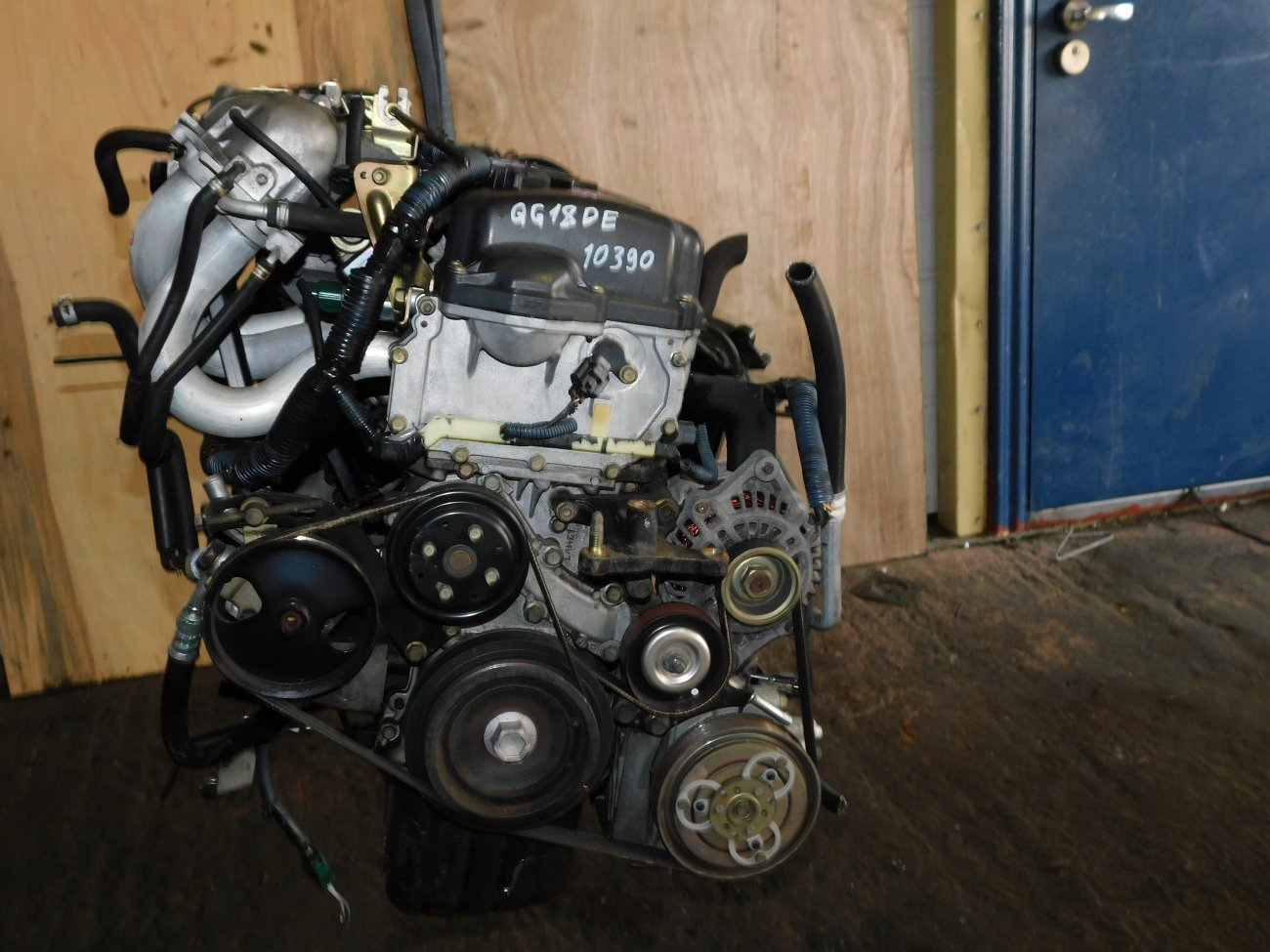 Двигатель Nissan Bluebird Sylphy QG10 QG18DE (б/у)